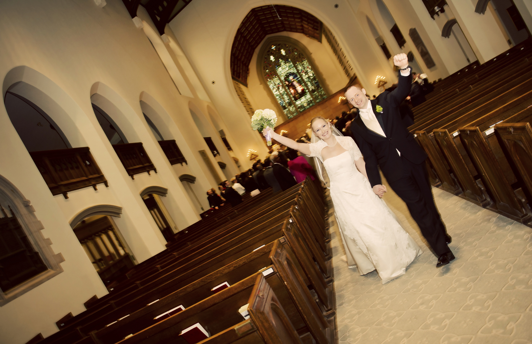 We are married, photo by Karri North!